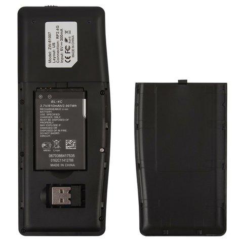 Беспроводная мини-клавиатура (черная) Превью 2