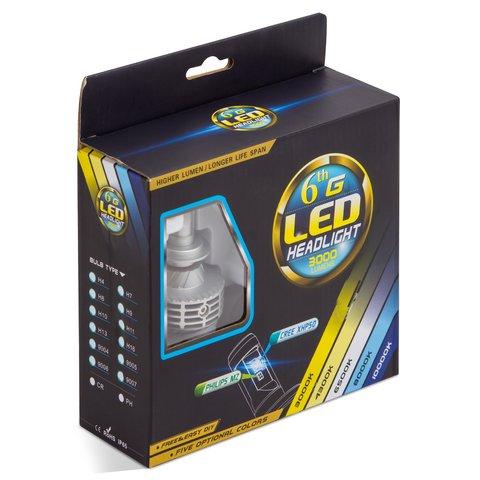Набор светодиодного головного света UP-6HL (9005 (HB3), 3000 лм) Превью 2