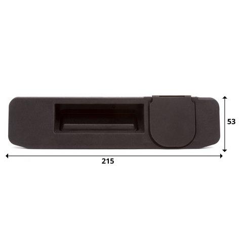 Моторизованная камера заднего вида для Mercedes-Benz ML, GL, GLE, GLC, GLA, A-класса Превью 1