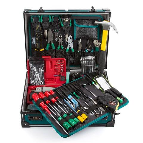 Набір інструментів Pro'sKit 1PK-1990B для електромонтажу Прев'ю 1