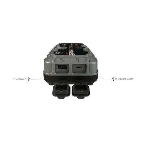 Пускозарядное устройство для автомобильного аккумулятора GB20 - Просмотр 2