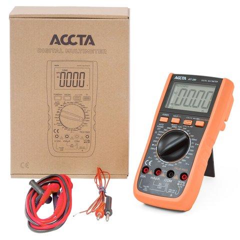 Цифровий мультиметр Accta AT-280 Прев'ю 5