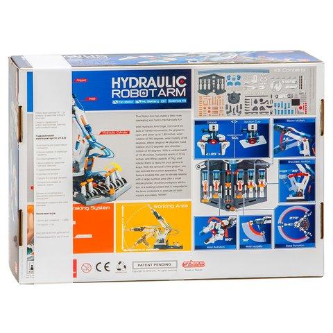 Гидравлический манипулятор, STEM-конструктор CIC 21-632 Превью 10