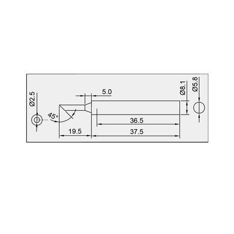 Soldering Tip Pro'sKit 5SI-131-2C Preview 1